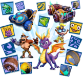 Spyro n friends bundle detail