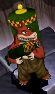 Dingodile in Wrath of Cortex 2