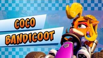 Coco Bandicoot Crash Team Racing Nitro-Fueled
