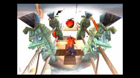 The High Road - Clear Gem - Crash Bandicoot - 100% Playthrough (Part 20)