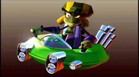 CTR Nitrous Oxide voice taunts quotes lines Crash Team Racing