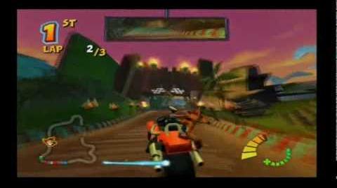 Crash Tag Team Racing Tiki Turbo Track