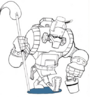 Robot janitor concept