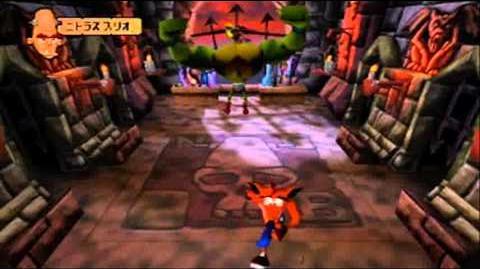 Crash Bandicoot Japanese Version 100% Part 44 - N