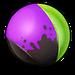 Liz violet paint