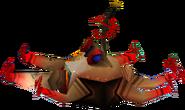 Crash Bandicoot 2 Cortex Strikes Back Sparky Tentaclebot Unit