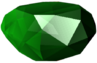 Crash Bandicoot 2 Cortex Strikes Back Green Gem
