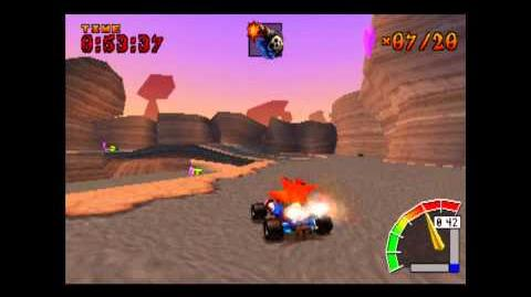 Rocky Road - CTR Challenge - Crash Team Racing - 101% Playthrough (Part 32)