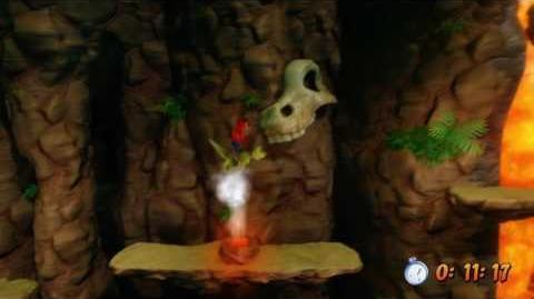 Secret Level (Eggipus Rex) + Gold Relic - Crash Bandicoot 3