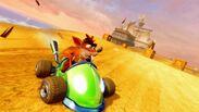 Crash Team Racing Nitro-Fueled Team Trance Kart