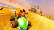 Crash Team Racing Nitro-Fueled Team Trance Kart