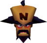 Doctor Neo Cortex Head in Vortex Crash Bandicoot 3 Warped