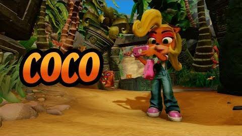 Coco Bandicoot Crash Bandicoot N