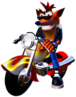 Crash Bandicoot 3 Warped Crash Bandicoot Motorcycle