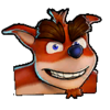 Crash Team Racing Nitro-Fueled Crunch Bandicoot Icon