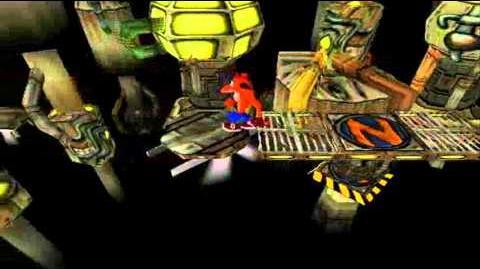 Crash Bandicoot Japanese Version 100% Part 24 - Generator Room - No Smoking-0