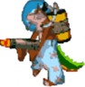 Crash Bandicoot The Huge Adventure Dingodile