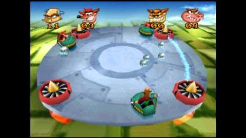 Sky Balls - Trophy - Crash Bash - 200% Playthrough (Part 49)-0