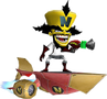 Doctor Neo Cortex Hoverboard Crash Twinsanity