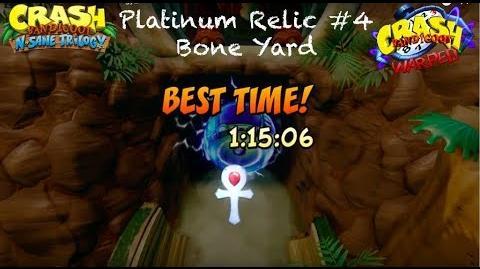 Crash Bandicoot 3 N. Sane Trilogy Platinum Relic 4 Bone Yard 105% Walkthrough-1