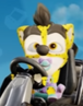 Baby crash cheetah
