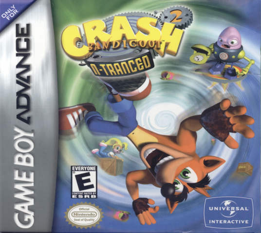 File:Crash Bandicoot 2 N-Tranced Box Art.png