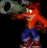 Crash bandicoot bazooka by mannyweb-d62d0w3
