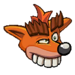 Fake crash sticker