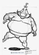 Sumo Warthog