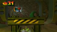CrashEntersNuclearReactor