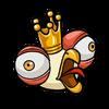 King chicken sticker