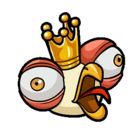 King chicken sticker