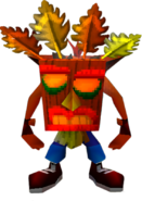 Crash Bandicoot Aku Aku Invincibility