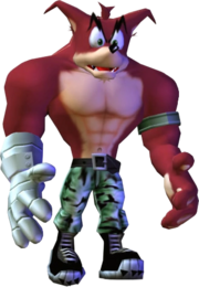 Crunch Bandicoot The Wrath of Cortex