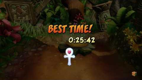 PLATINUM RELIC CRASH BANDICOOT N.SANE TRILOGY Crash 1 - N