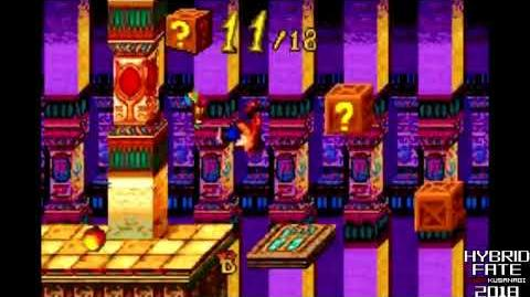 Crash Bandicoot 2 N-Tranced - 101% & All Platinums, Part 5 Pharaoh's Funhouse