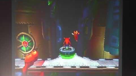 Crash Bandicoot 2 All Death Routes Walkthrough-Piston it Away