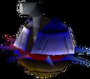 Spiked Saucer