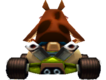 CTR Dingodile In-Kart (Back)