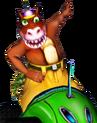 Crash Nitro Kart Dingodile