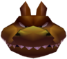 Dingodile Head in Vortex Crash Bandicoot 3 Warped