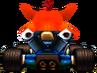 CTR Crash In-Kart (Back)