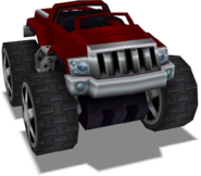 Crash Tag Team Racing Overcompensator