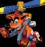 Crash Bandicoot The Wrath of Cortex Copterpack