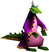 Crash Bash Komodo Joe