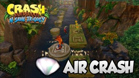 "Crash Bandicoot 2 - ""Air Crash"" 2nd Gem (PS4 N Sane Trilogy)"