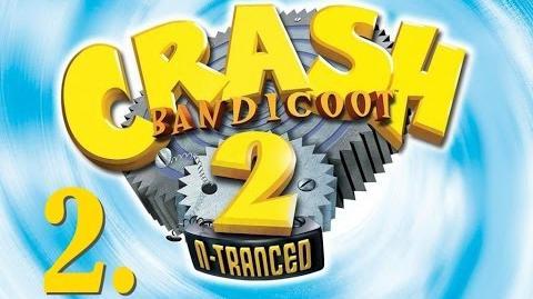 Crash Bandicoot 2 N-Tranced - Walkthrough, Part 2 - Prints of Persia