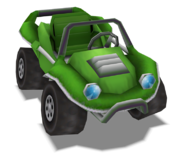 GreenTestcarRender