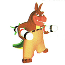 Crash bash dingodile japanese