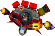 Doctor N. Gin's Mech (Second Form) Crash Bandicoot 3 Warped